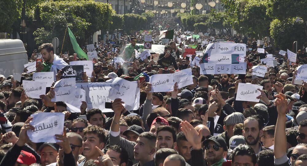 Manifestation à Alger (archives)