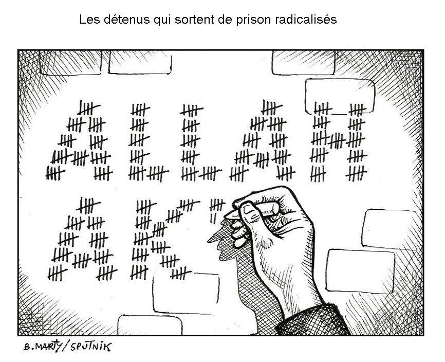 Les détenus qui sortent de prison radicalisés