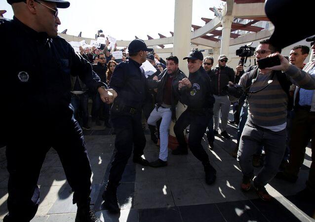 La crise en Algérie