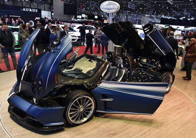 La Pagani Huayra Roadster au Salon de Genève 2019