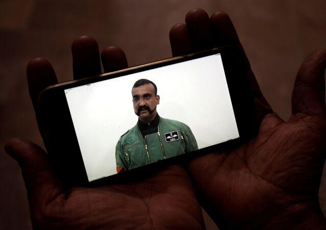 Abhinandan Varthaman, pilote indien capturé par le Pakistan