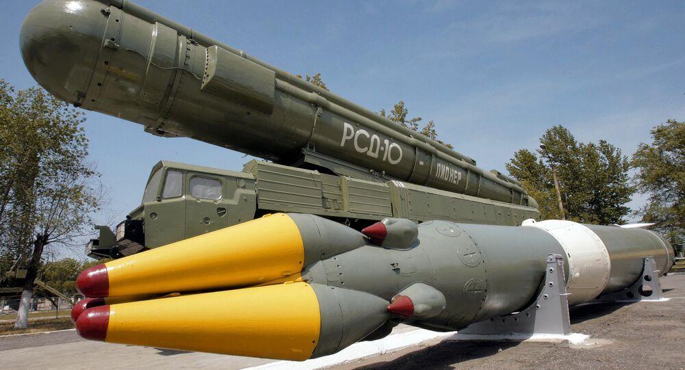 Un missile à moyenne portée détruit par la Russie dans le cadre du Traité FNI (archives)
