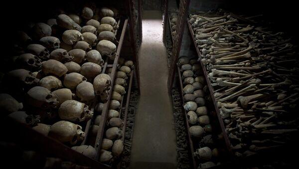 Crânes de Rwandais massacrés en 1994 - Sputnik France