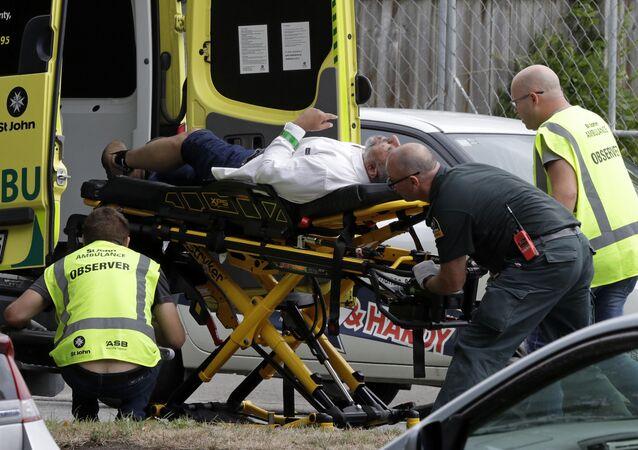 fusillades dans la ville de Christchurch
