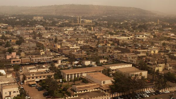 Bamako is seen during a harmattan dust storm, in this February 19, 2014 file photo. - Sputnik France