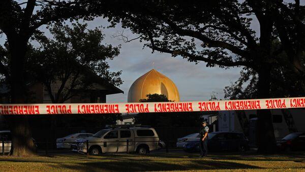 La mosquée Masjid Al Noor à Christchurch, en Nouvelle-Zélande - Sputnik France