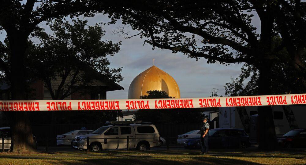 La mosquée Masjid Al Noor à Christchurch