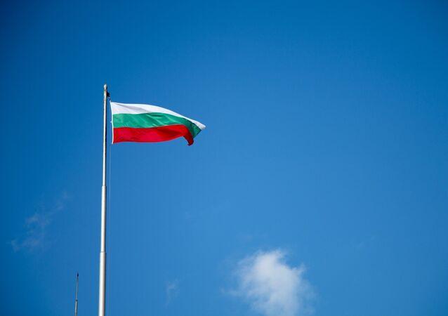 Un drapeau bulgare