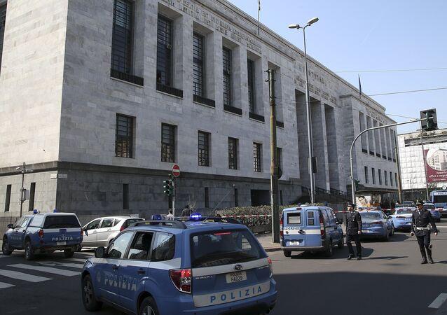 Police à Milan