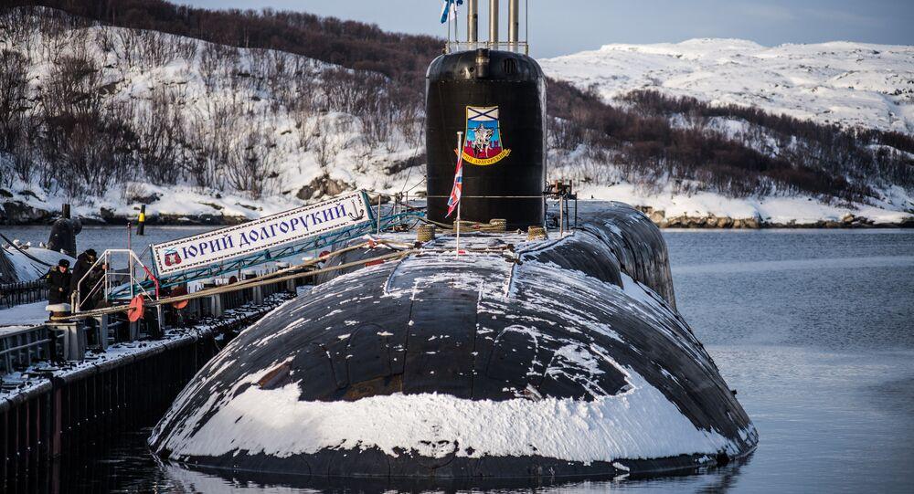 sous-marin Iouri Dolgorouki