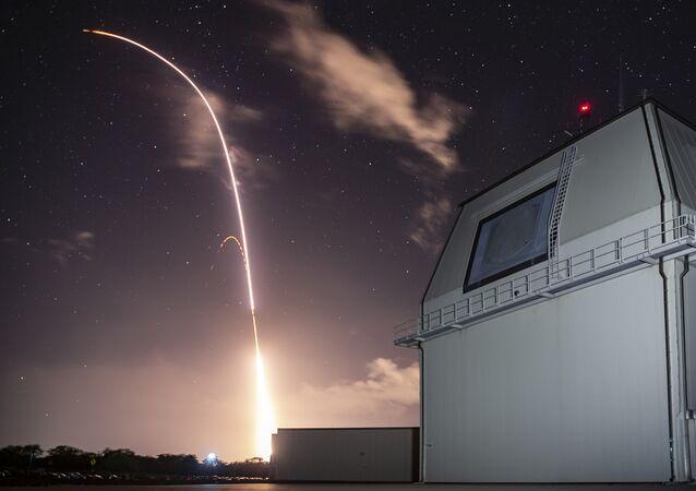 Tir d'un missile SM-3 Block IIA