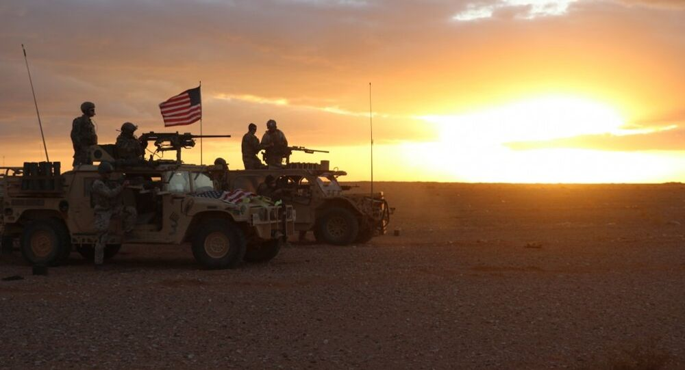 Militaires US en Syrie. Archives