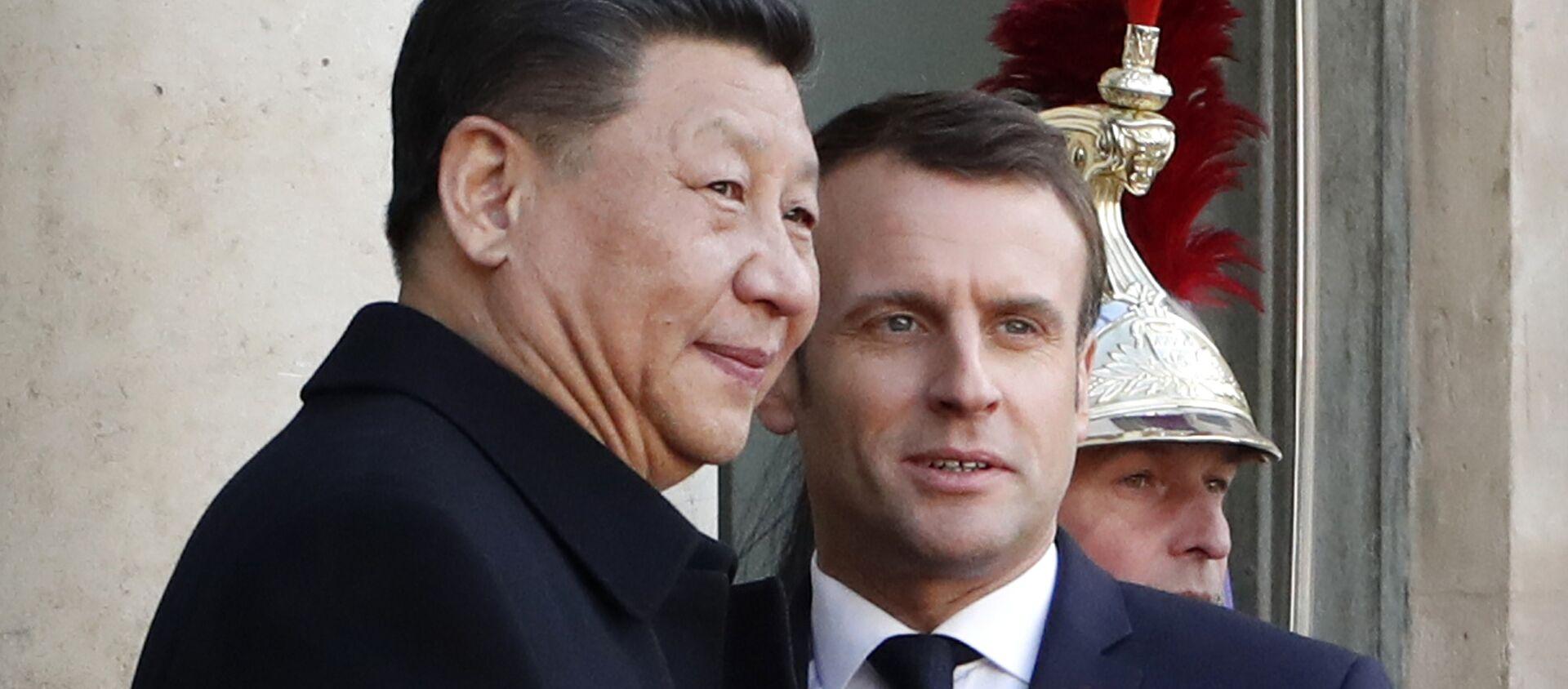 Emmanuel Macron et Xi Jinping - Sputnik France, 1920, 24.11.2020