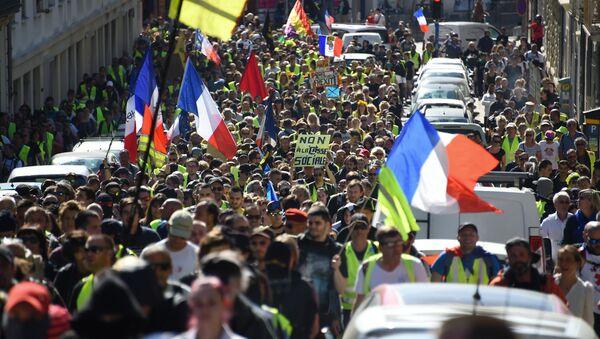 Acte 19 des Gilets jaunes à Montpellier - Sputnik France