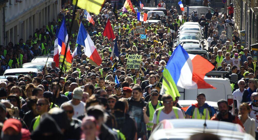 Acte 19 des Gilets jaunes à Montpellier