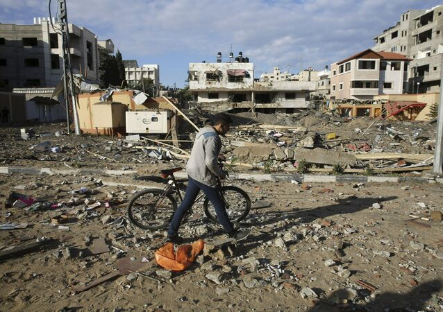Destructions à Gaza. Archive photo