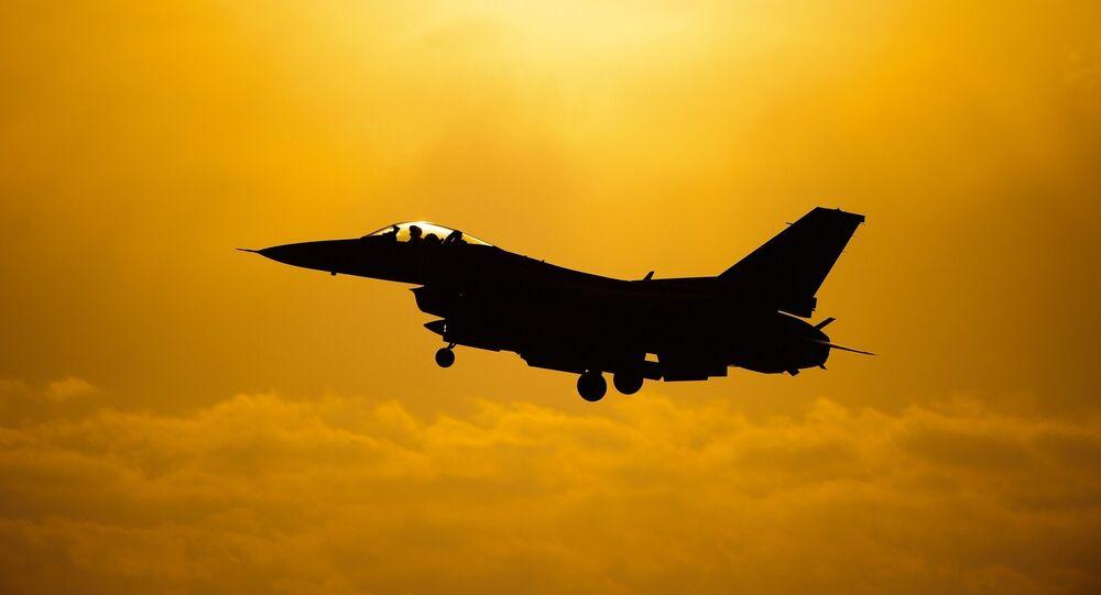 F-16, image d'illustration