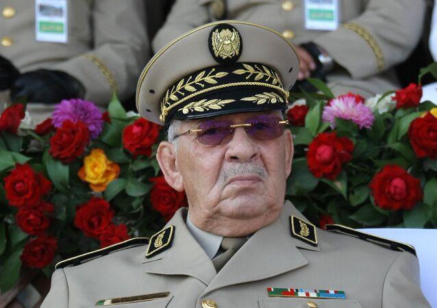 Ahmed Gaïd Salah, chef d'état-major de l'Armée nationale populaire (ANP) algérienne