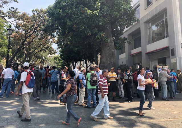 Panne d'électricité à Caracas