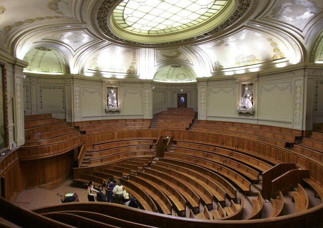 Amphithéâtre Richelieu à la Sorbonne