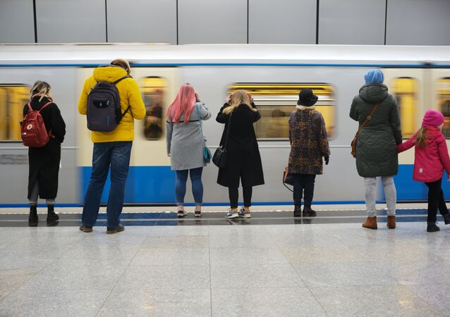Une journée dans le métro de Moscou