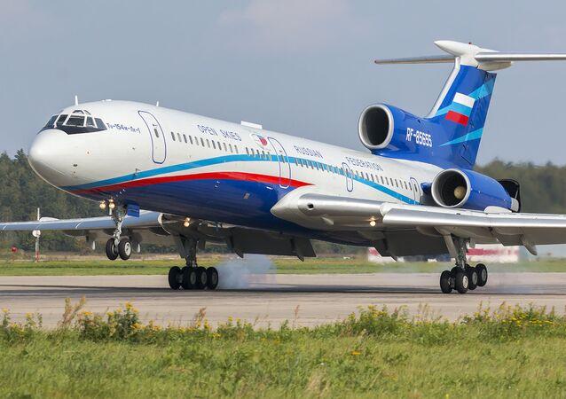 Un Tupolev Tu-154M-Lk-1