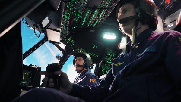 Un simulateur d'hélicoptère (archive photo) - Sputnik France