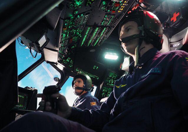Un simulateur d'hélicoptère (archive photo)