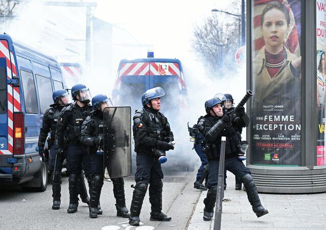 La police de Paris (archives photo)