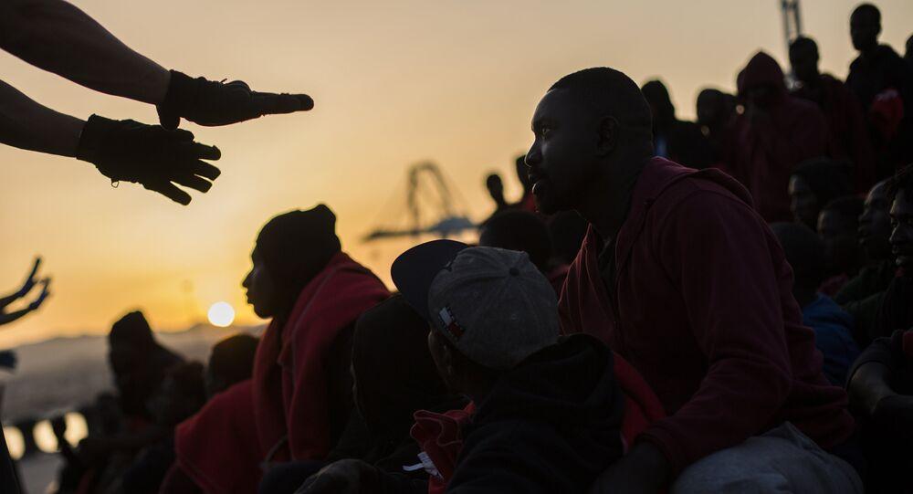 L'arrivée de migrants en Espagne