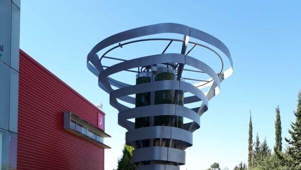Biourban, arbre mécanique capable de remplacer 368 arbres ordinaires - Sputnik France
