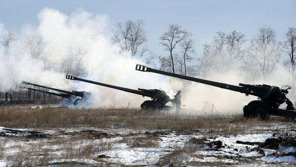 l'artillerie russe (image d'illustration) - Sputnik France