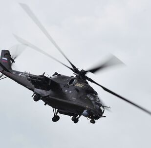Un hélicoptère Mi-35M