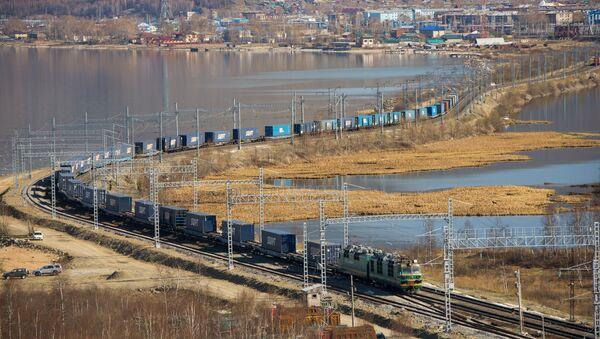 Le fret ferroviaire à travers la Russie - Sputnik France