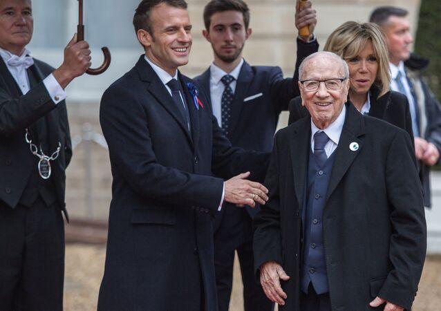 Le Président tunisien Beji Caïd Essebsi