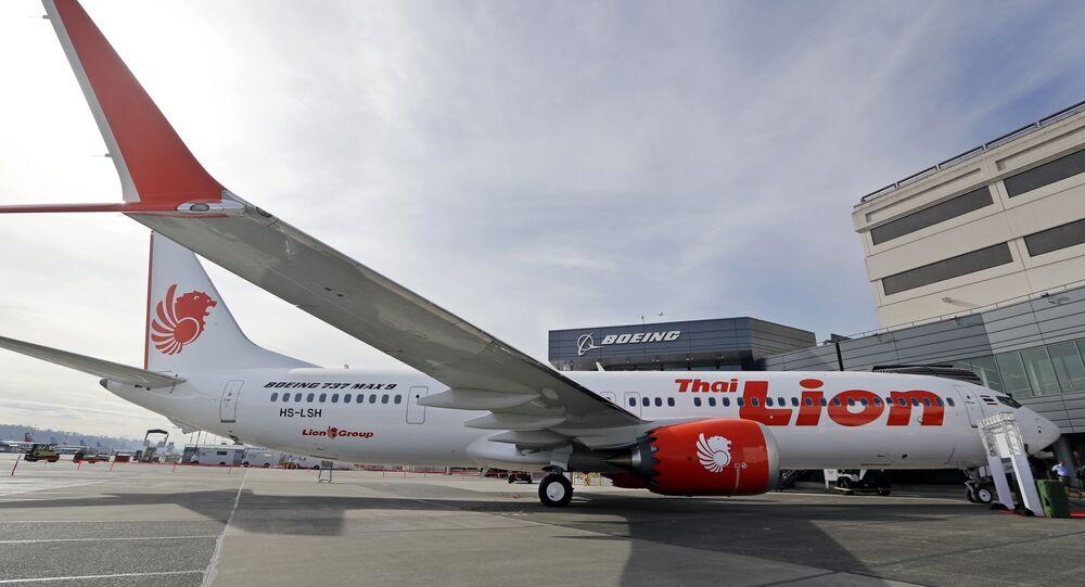 un Boeing de la compagnie aérienne Lion Air