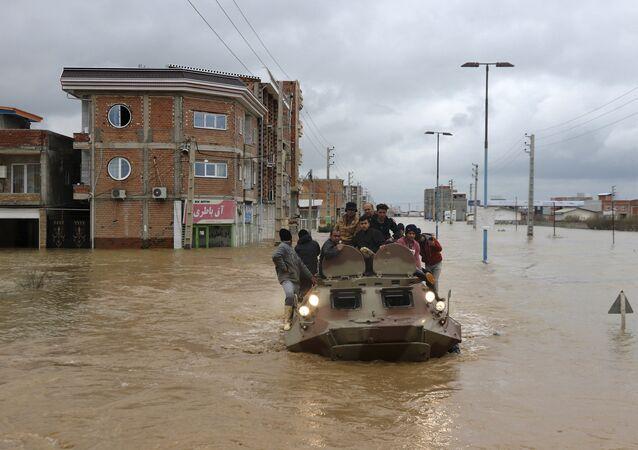 Iran sous inondations