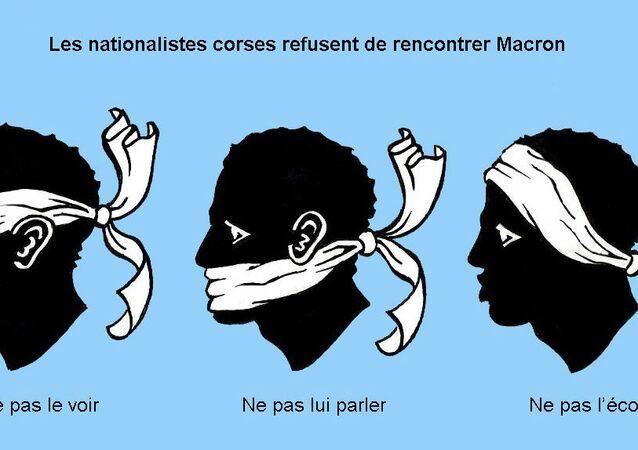 Grand débat: Les nationalistes corses refusent de rencontrer Macron à Cozzano