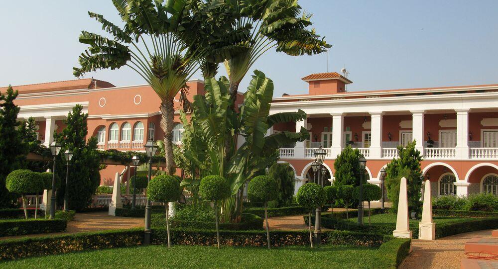 Palais présidentiel à Luanda, Angola