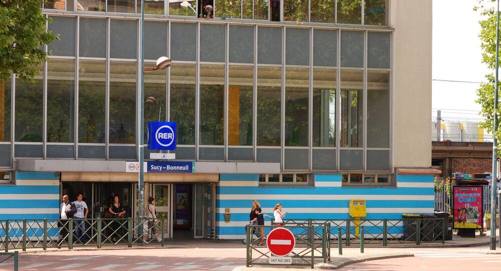 La gare RER A de Sucy-en-Brie