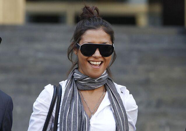 Imane Fadil en 2011