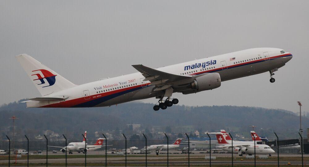 Le Boeing 777 de Malaysia Airlines disparu en 2014