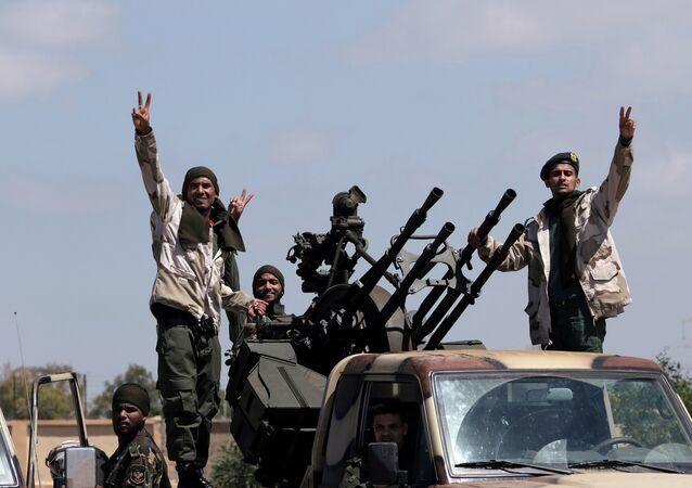 forces du maréchal Khalifa Haftar