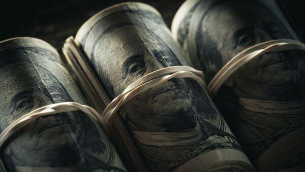 Des billets de dollar US (image d'illustration) - Sputnik France