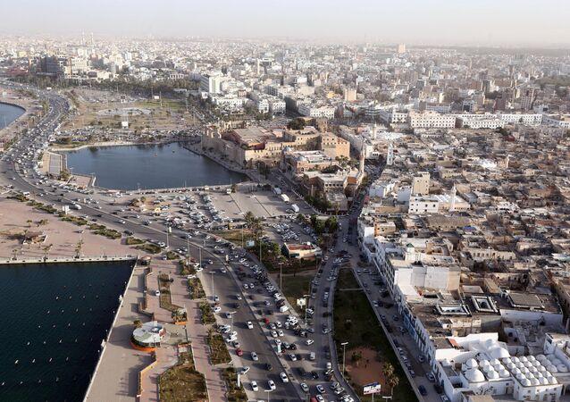 Tripoli vu du ciel