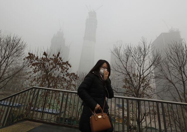 Pollution de l'air en Chine