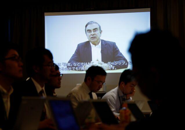 Carlos Ghosn se dit «innocent» et dénonce une «trahison» dans une vidéo