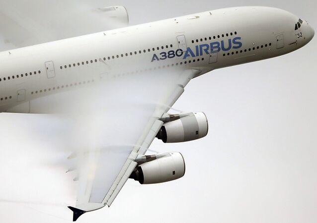 Un Airbus A-380