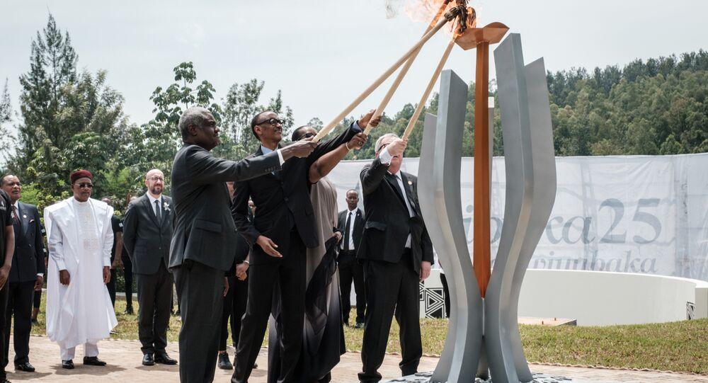Commémoration du génocide rwandais