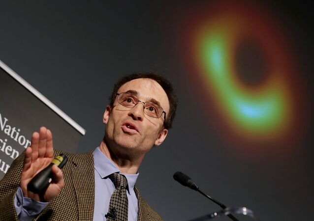L'astrophysicien Sheperd Doeleman, directeur de l'EHT